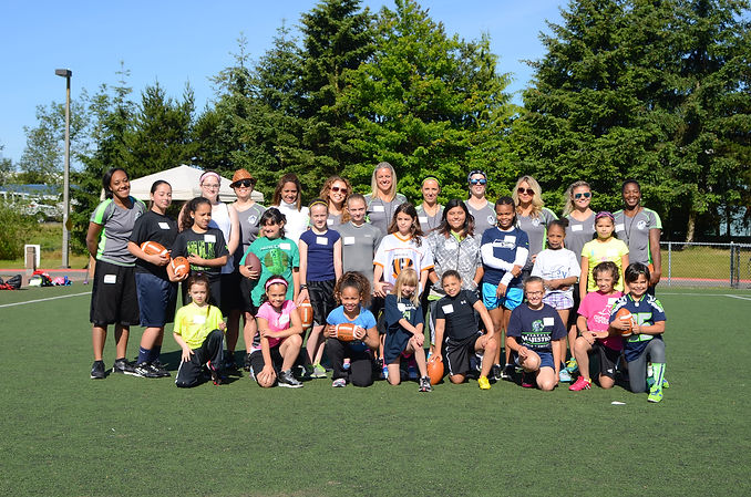 1st Annual Gridiron Dreams All Girls Football Camp at Kasch Park Everett, WA
