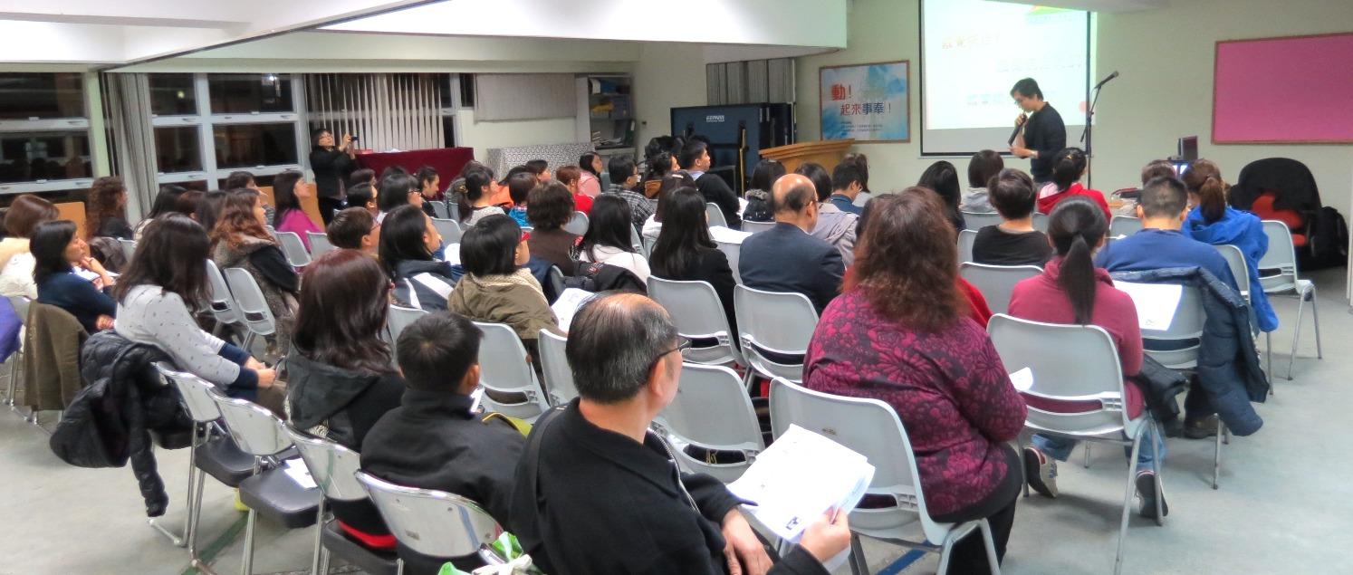 5場SEN講座由資深職業治療師陳子文先生主講