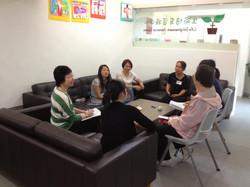 兒童親子教育課程--組長與組員交流親子教育心得