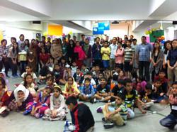 烏都日營共有大約80位少數族裔小朋友參加!