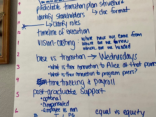 Adaptive Leadership and pivoting to meet the needs of The Avery Center