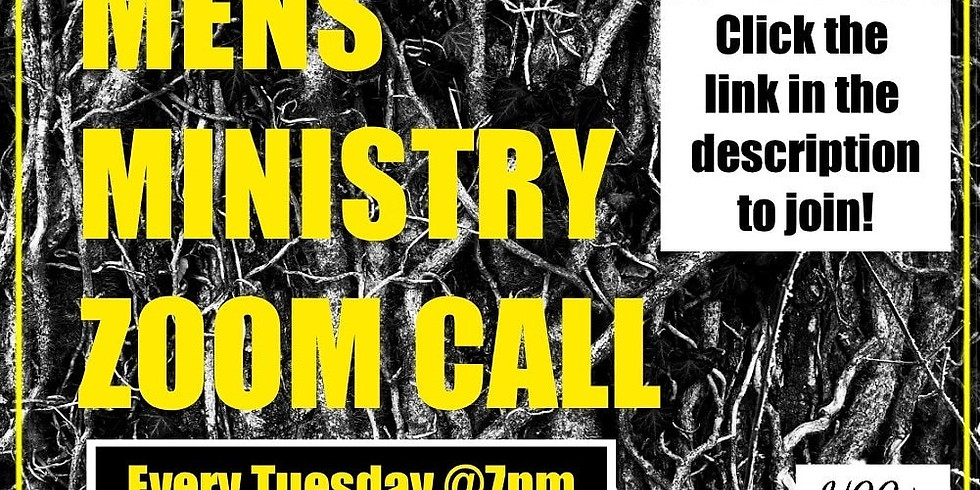 Men's Ministry Zoom Call