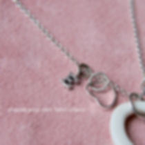 charm necklace, love charm_9394.jpg