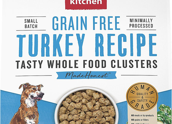 Honest Kitchen Dog Clusters  Grain Free Turkey 5 Lbs.