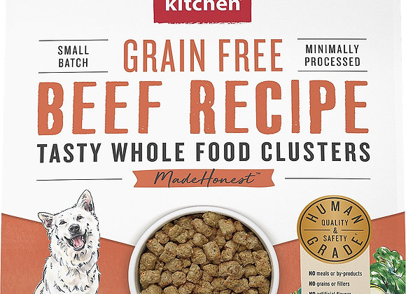Honest Kitchen Dog Clusters  Grain Free Beef 1 Lbs.   Trial