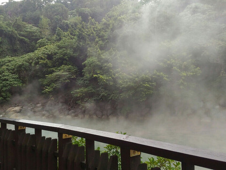 Beitou Springs and Daan Park
