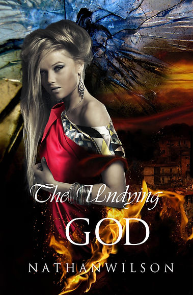 The Undying God, fantasy and suspenseful mystery novel by author Nathan Wilson