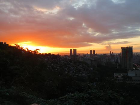 Taipei 101 and Elephant Mountain