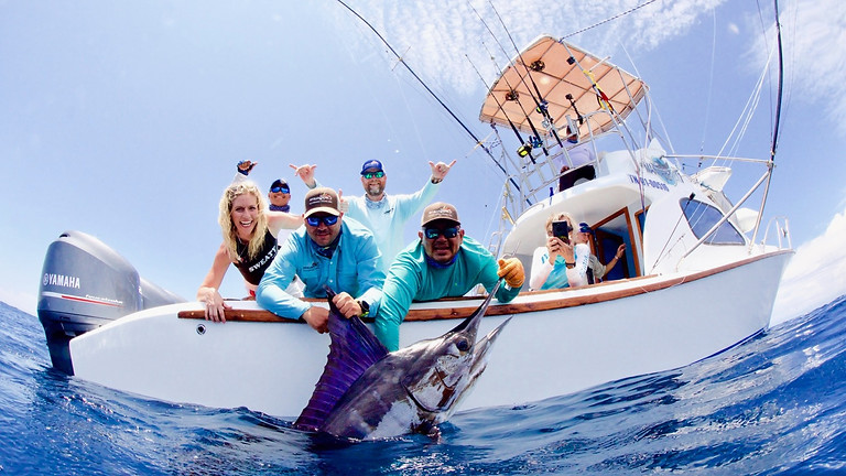 Galapagos Islands Striped Marlin February 20-27 (SOLD OUT PAT FORD)
