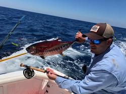 Ecuador Fly Fishing Tuna on Fly