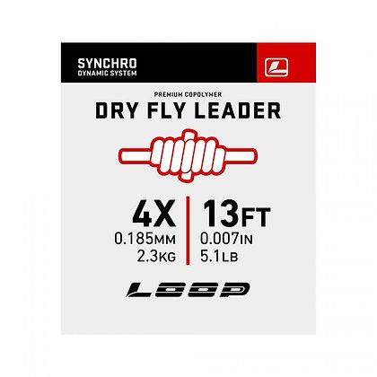 Synchro 13' Dryfly Nylon Leader