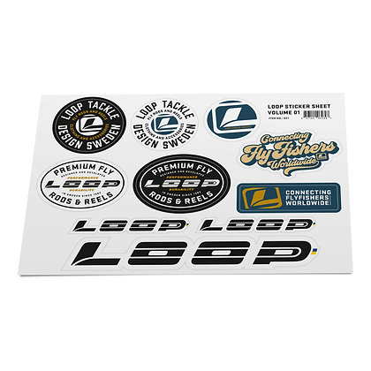 LOOP STICKER SHEET 1