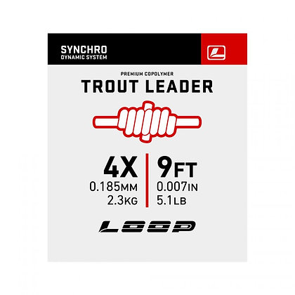 Synchro 9' Nylon Trout Leader
