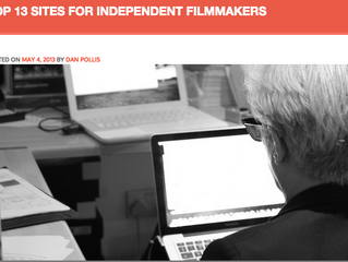 TOP 13 SITES FOR INDEPENDENT FILMMAKERS
