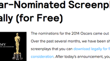 Download Half a Dozen 2014 Oscar-Nominated Screenplays Legally (for Free)