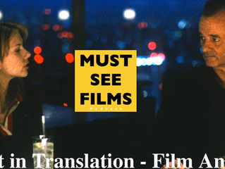 Lost in Translation - Film Analysis