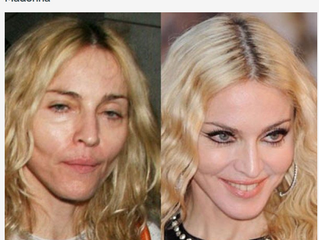 20 Celebrities Who Look Completely Different Without Makeup