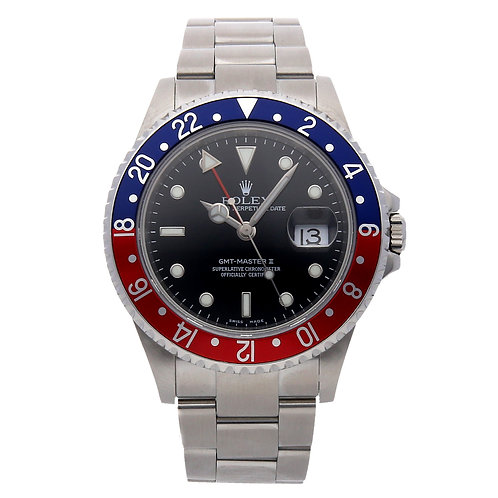 """Pre-Owned ROLEX GMT-MASTER II """"PEPSI"""" 16710"""
