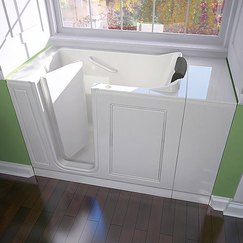 Luxury Series 28x48-inch Walk-In Tub with Air Spa System