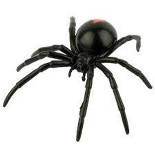 Red Back Spider Figurine