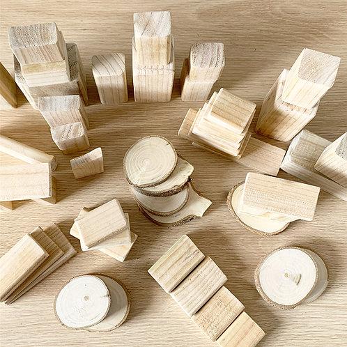 Jumbo Wooden Block Set