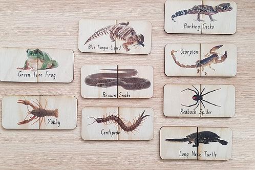 Aussie Wildlife Matching Puzzle - Wildlife