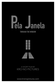 Pela Janela | Through The Window | Poster | Short Film | kro.no Pictures