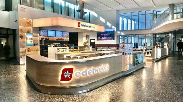 EDELWEISS CAFÉ - ZÜRICH FLUGHAFEN