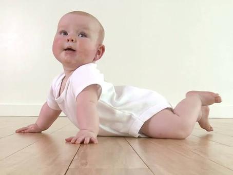 El desarrollo motor en los primeros seis meses de vida