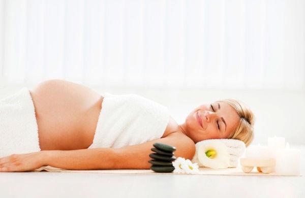 Těhotenská masáž 45 minut