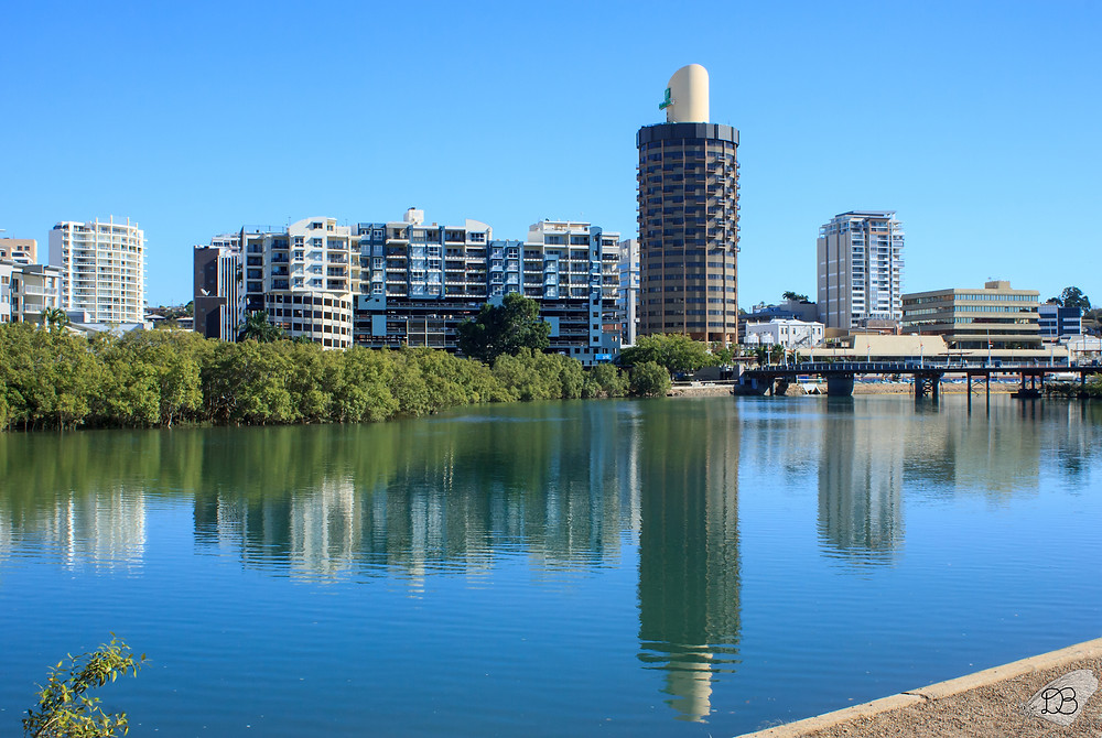 Townsville across Ross Creek
