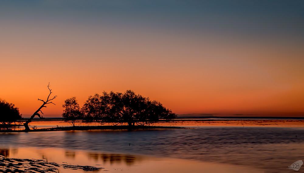 Sunset at Bushland Beach