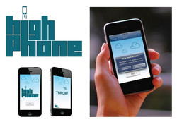 Highphone logo and branding