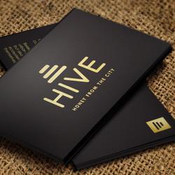 Hive Business Card Mockup