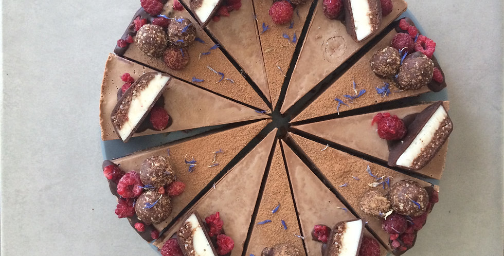 Organic Whole Raw Cut Cheesecake