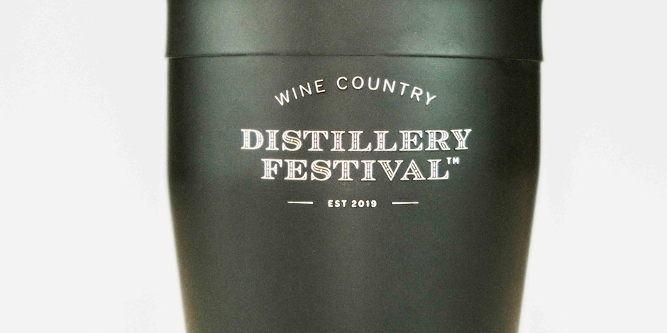 Wine Country Distillery Festival Cocktail Shaker - 18 oz