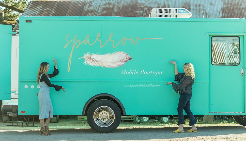 Sparrow Fashion Shop - Mobile Fashion Boutique - Dreams, Passions, Aspirations