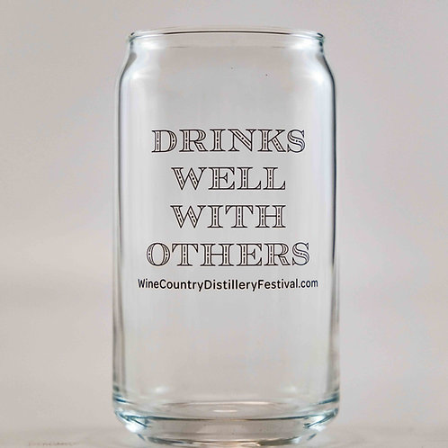 Drinks Well With Others - Glass