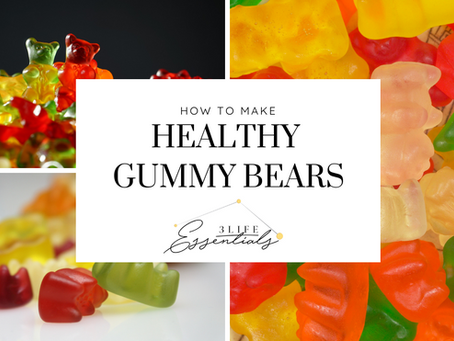 How to Make Gummy Bears that Your Whole Family Can Be Excited About