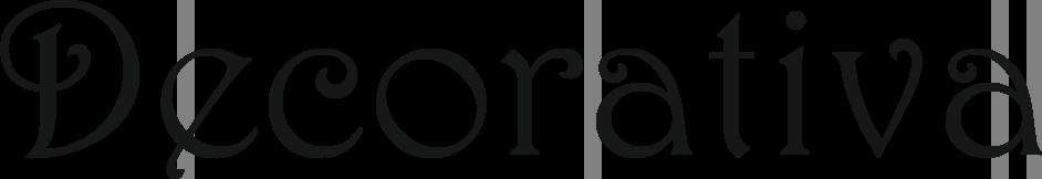 Ejemplo tipografía Decorativa