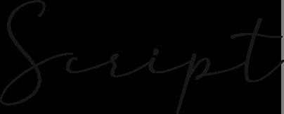 Ejemplo tipografía Script