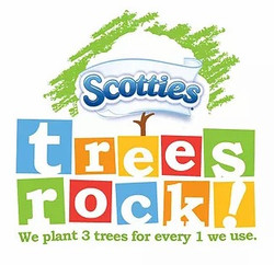 Scotties Trees Rock campaign logo