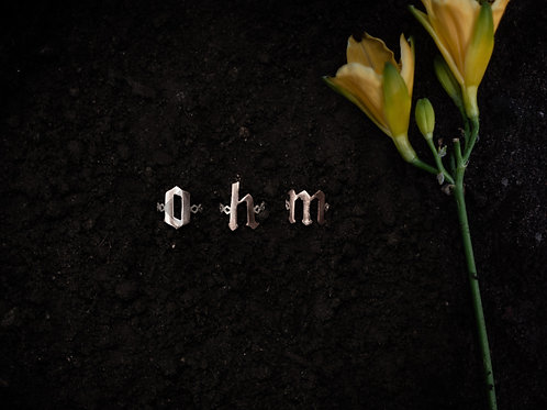 Custom O-h-m Ring Set