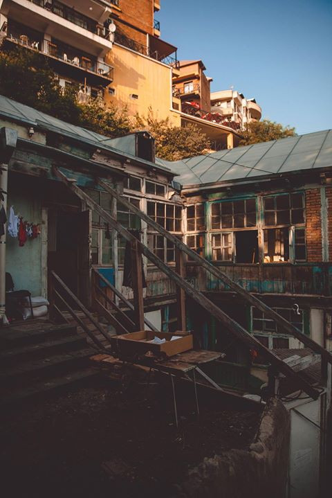 Грузия, Тбилиси, старый Тбилиси