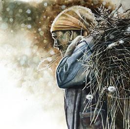 художник Аркадий Бабич, акварель