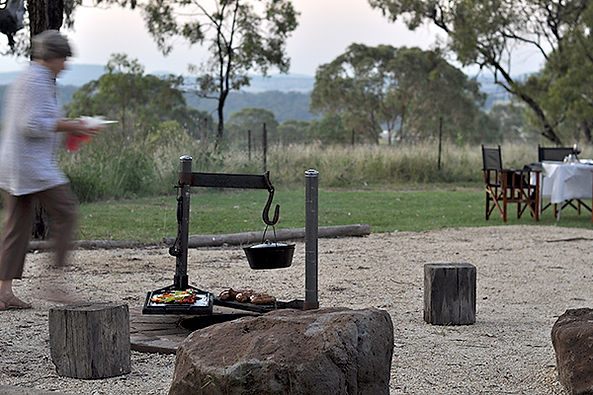 Montrose Farm can create a paddock-to-plate gourmet BBQ for you