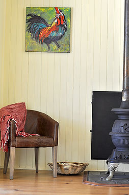 Montrose Farm's Sheepwash Cottage is a warm and cosy winter hideaway
