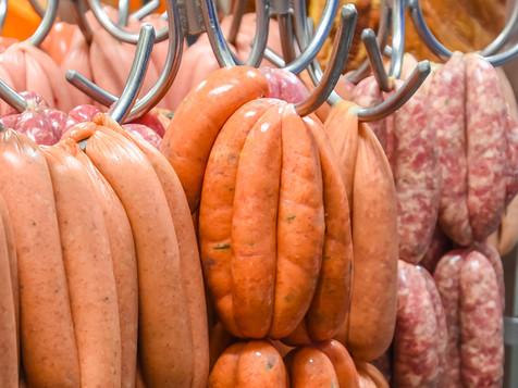 Rose City Premium Meats sausage range