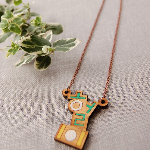 lol 헐 Hul Bamboo Necklace