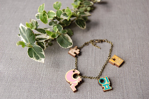 Hangul 한글 Bracelets